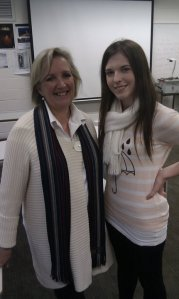 Me with Jane Caro (famous Aussie social commentator and regular panelist on the TV show The Gruen Transfer)