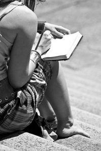 girl-writing