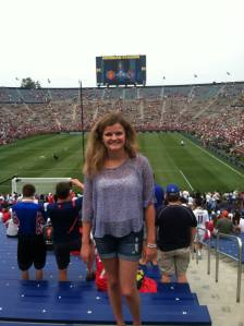 Ann Arbor, Michigan for the Real Madrid vs. Manchester Soccer Game